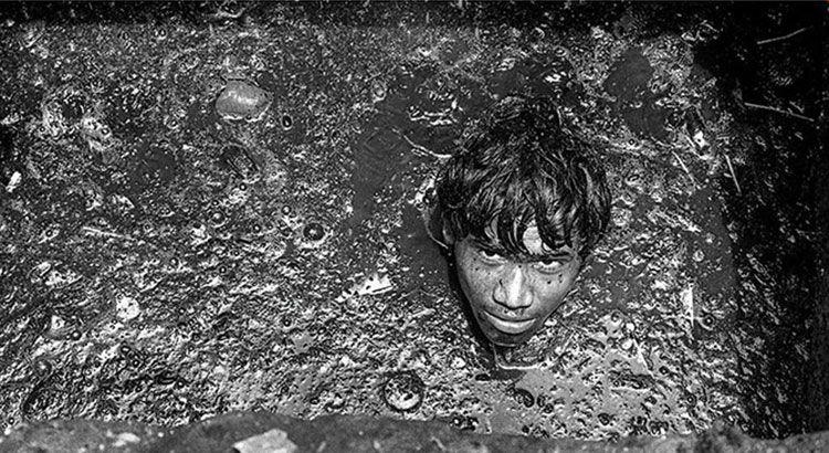 Как чистят канализацию в Мумбаи — Фото №3