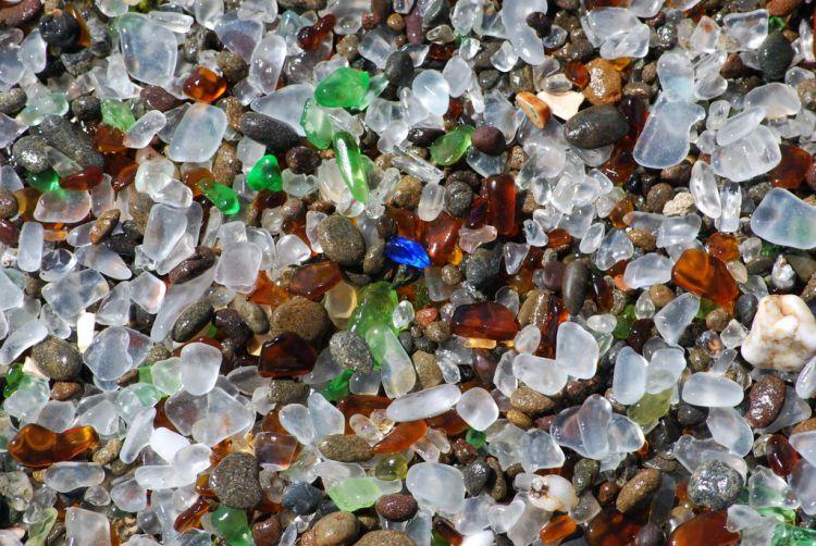 Стеклянный пляж в Калифорнии — Фото №12