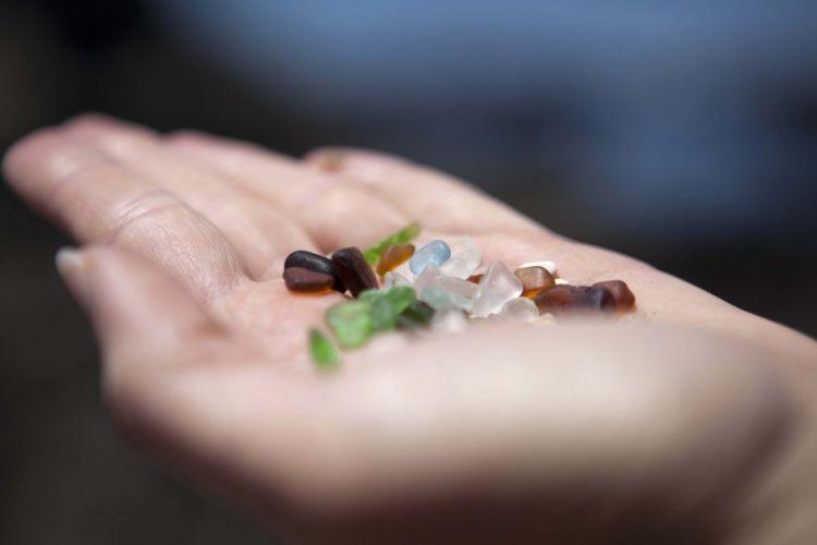 Стеклянный пляж в Калифорнии — Фото №20