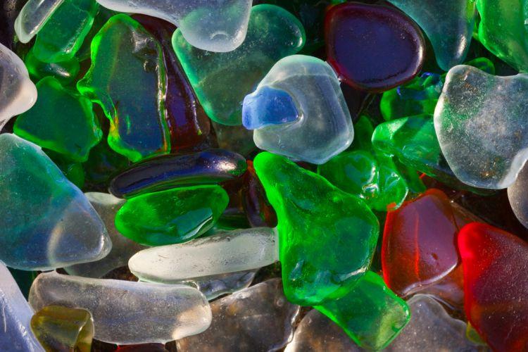 Стеклянный пляж в Калифорнии — Фото №22