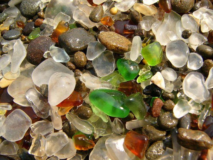 Стеклянный пляж в Калифорнии — Фото №23