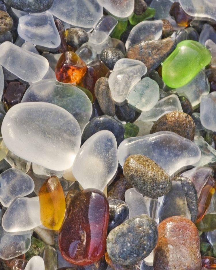 Стеклянный пляж в Калифорнии — Фото №24
