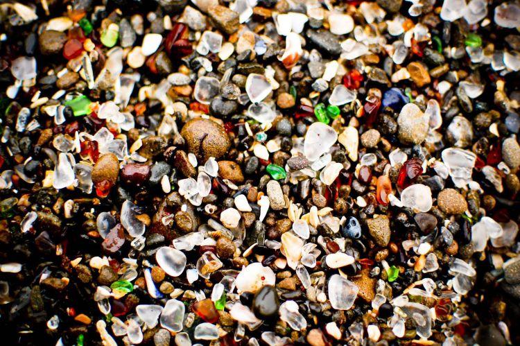 Стеклянный пляж в Калифорнии — Фото №5