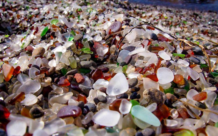Стеклянный пляж в Калифорнии — Фото №6