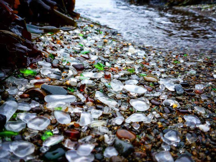 Стеклянный пляж в Калифорнии — Фото №7