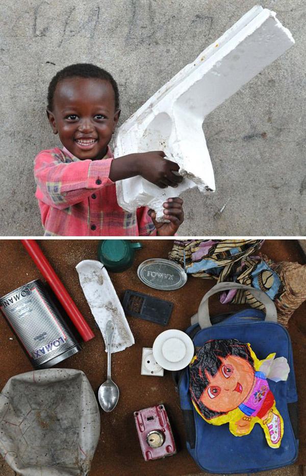 Игрушки детей из африканских трущоб — Фото №1