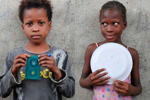 Игрушки детей из африканских трущоб