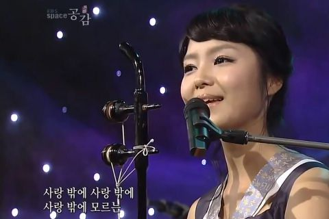 «Миллион алых роз» на корейском