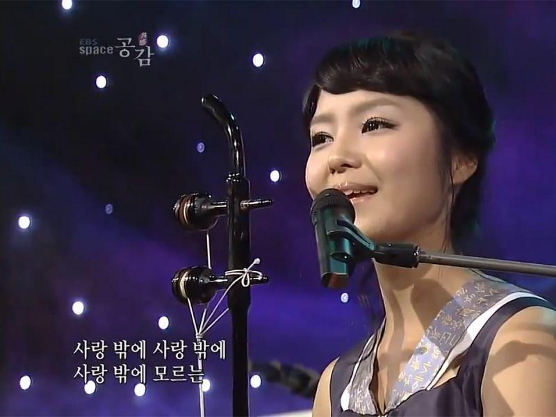 «Миллион алых роз» на корейском языке