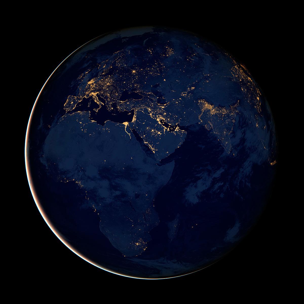 Африка, Европа и Ближний Восток.