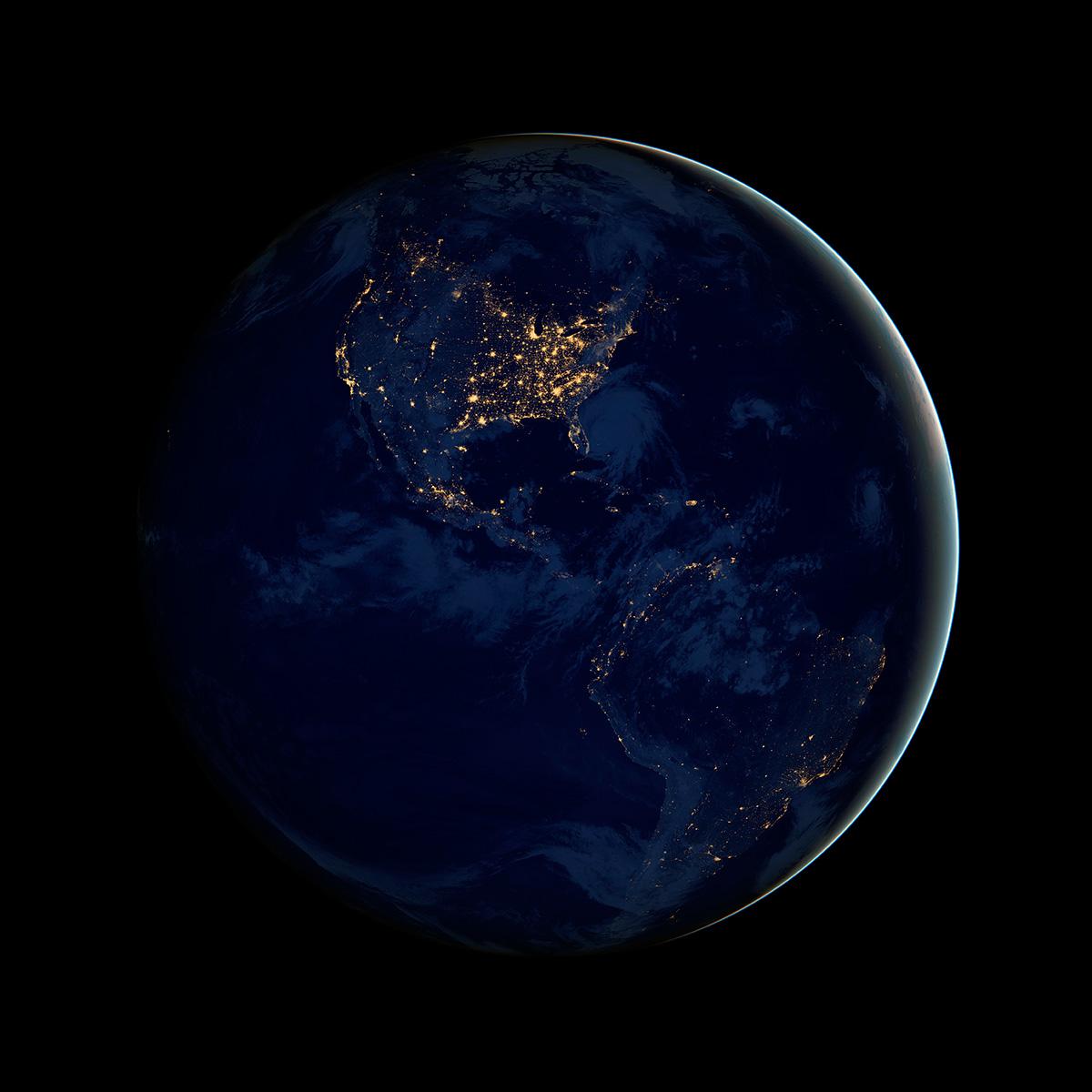 Северная и Южная Америки.