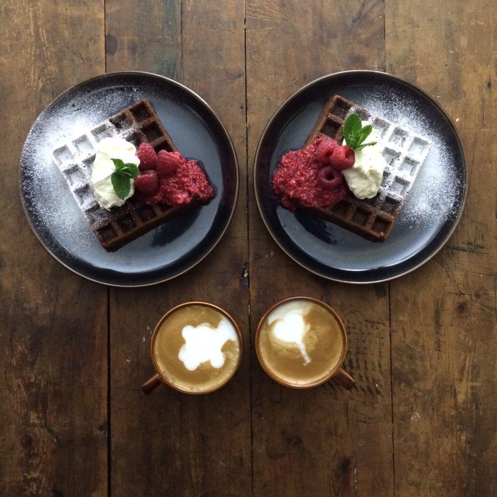 Симметричные завтраки Майкла Зи