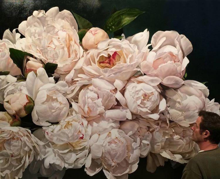Цветы маслом Томаса Дарнелла