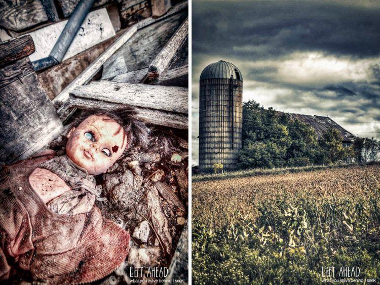 Мистические фотографии заброшенных ферм