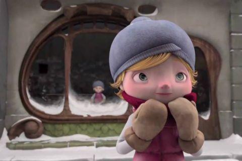 Мистический мультфильм о любопытной девочке