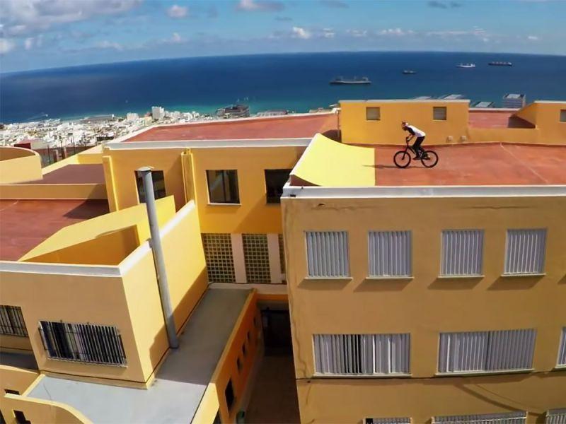 На велосипеде по крышам Гран-Канарии