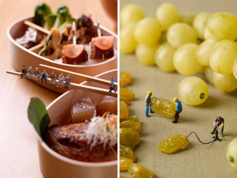 «Мининямы» — микрочеловечки в мире еды