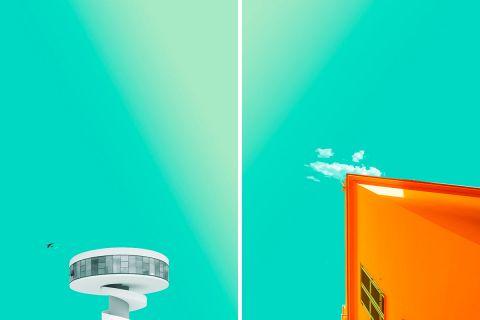 Архитектура в минималистичных фотографиях