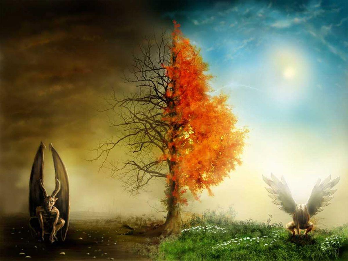Притча про рай и ад