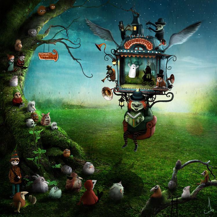 Сказочные иллюстрации Александра Янссона