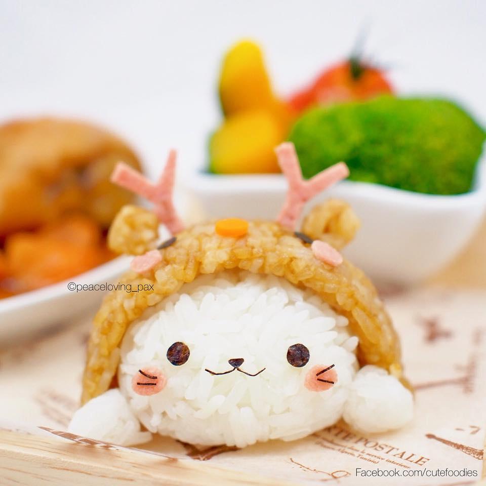 Очаровательные рисовые шарики