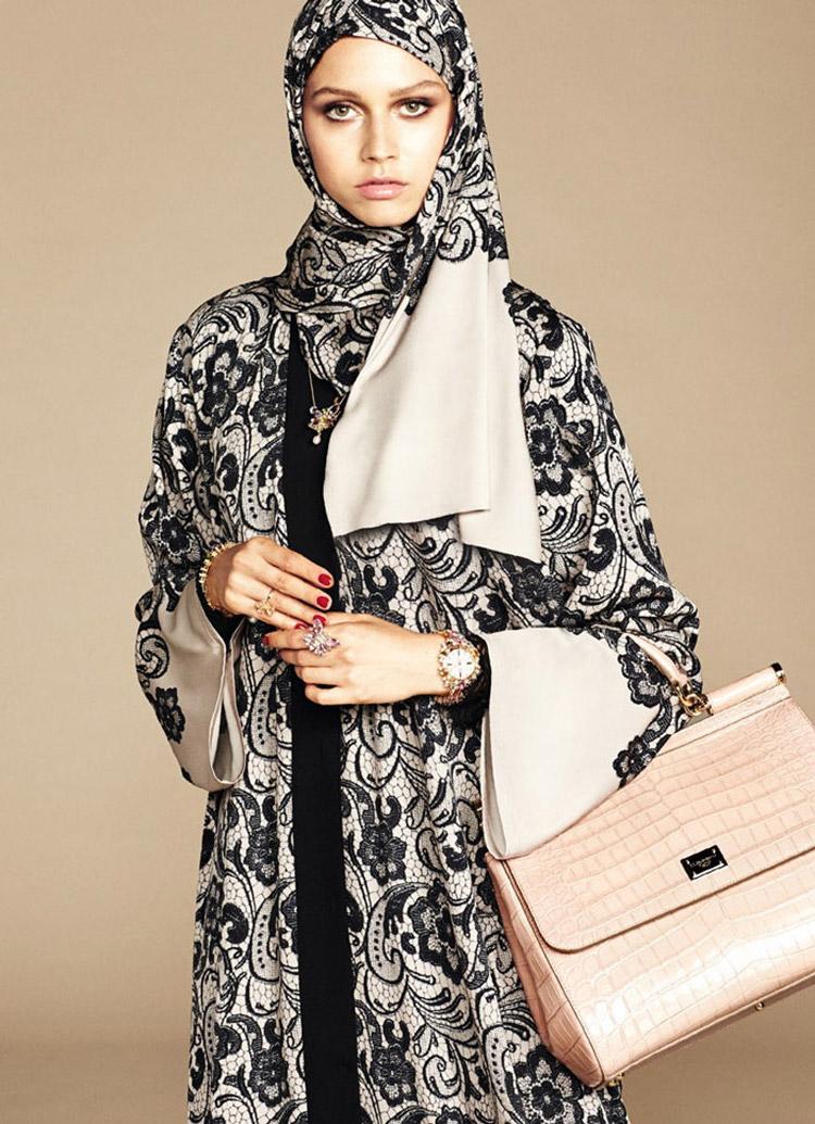 Модные хиджабы от Dolce & Gabbana
