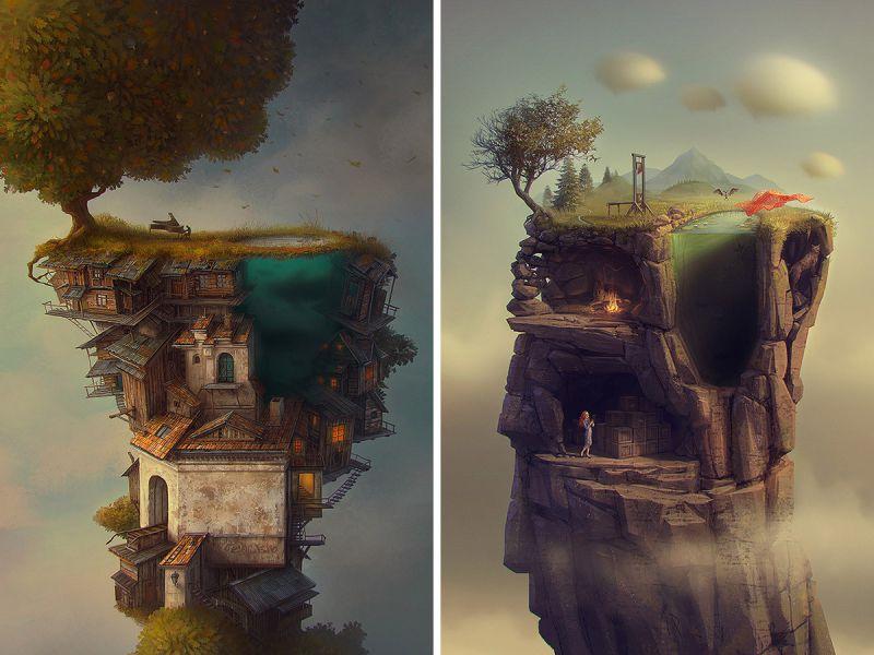 Фантазийные миры Гедиминаса Пранкевичуса