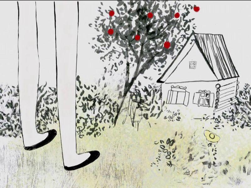 Добрый и трогательный мультфильм «Возвращение»