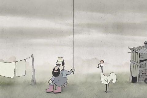 Мультфильм «Очень одинокий петух»