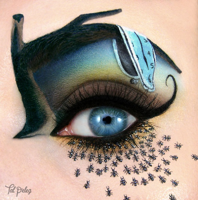 «Я использую глаза как холст и рисую на них сказку»