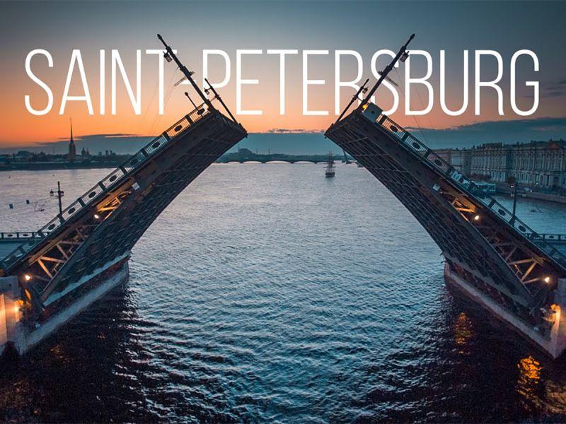 Завораживающая аэросъемка Санкт-Петербурга