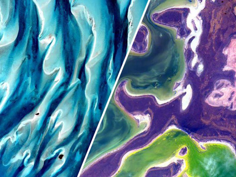 Фантастические снимки Земли, сделанные с борта МКС
