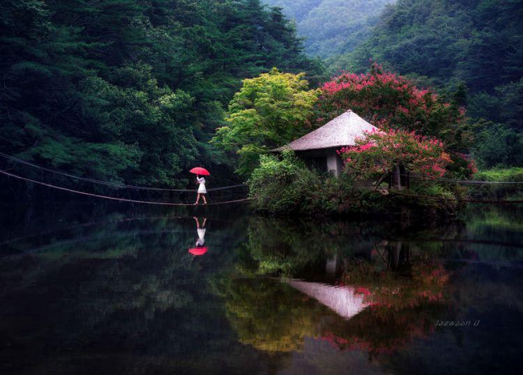 Безмятежные зеркальные пейзажи